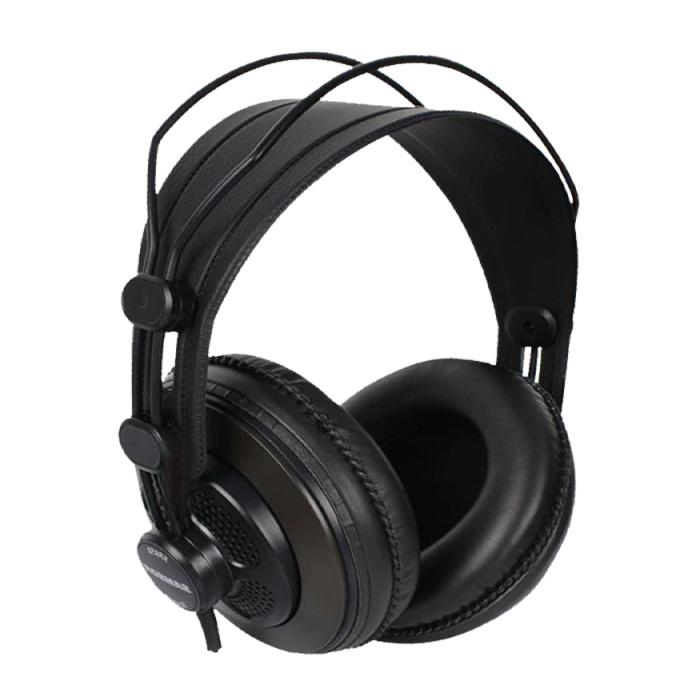 SR850 Studio Koptelefoon AUX Stereo Monitoring Headphones HiFi