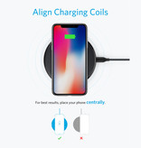 ANKER Powerwave 10W Qi Universele Draadloze Oplader Wireless Charging Pad