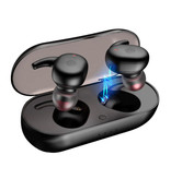Stuff Certified® DT-1 TWS Draadloze Smart Touch Control Oortjes Bluetooth 5.0 Air Wireless Pods Earphones Earbuds 300mAh Zwart