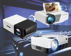 Mini projecteurs