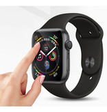 Stuff Certified® 42mm Hydrogel Clear Screen Protector Full Cover Folie voor iWatch Series