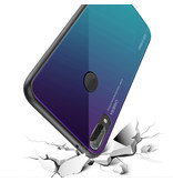 Stuff Certified® Huawei P20 - Gradient Armor Case Cover Cas TPU Hoesje Blauw