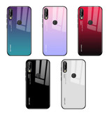 Stuff Certified® Huawei P30 - Gradient Armor Case Cover Cas TPU Case White