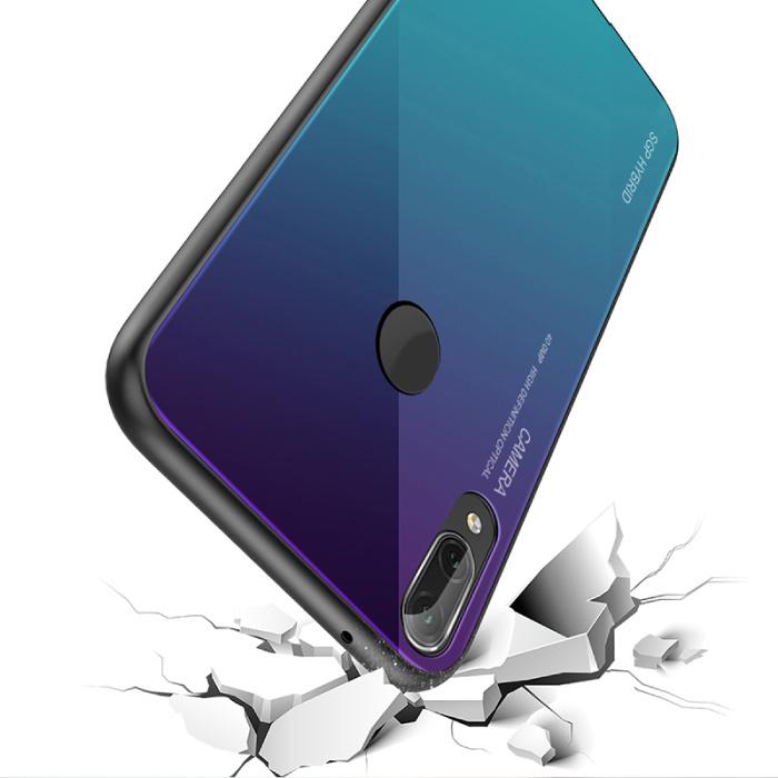 Stuff Certified® Huawei Lite 20 maté - Armure Gradient de couverture de cas Cas TPU Case Bleu