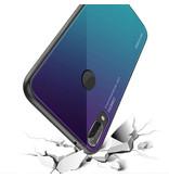 Stuff Certified® Huawei Mate 20 X - Housse Gradient Armor Case Cas TPU Case Bleu