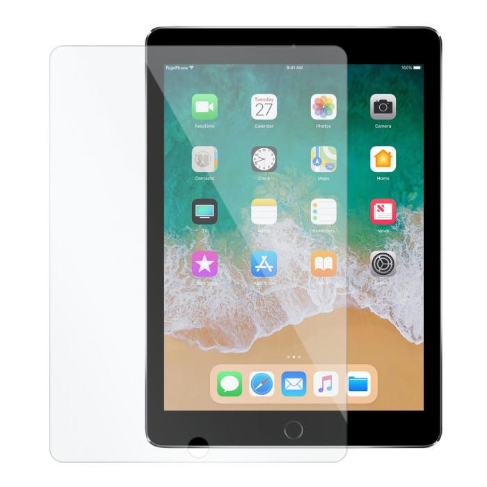 """iPad 9.7 """"(2018) Film de protection d'écran en verre trempé Lunettes en verre trempé"""