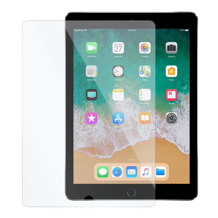"""iPad 9.7 """"(2017) Tempered Glass Screen Protector Film"""