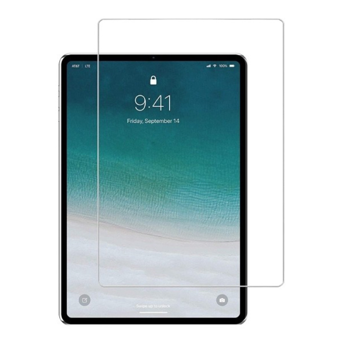 iPad Pro 11 (2018) Film de protection d'écran en verre trempé Lunettes en verre trempé