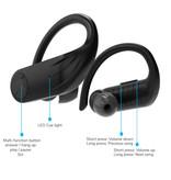 Caletop B1 TWS Wireless Earpieces with Ear Hook Bluetooth 5.0 Air Wireless Pods Earphones Earbuds 950mAh Black