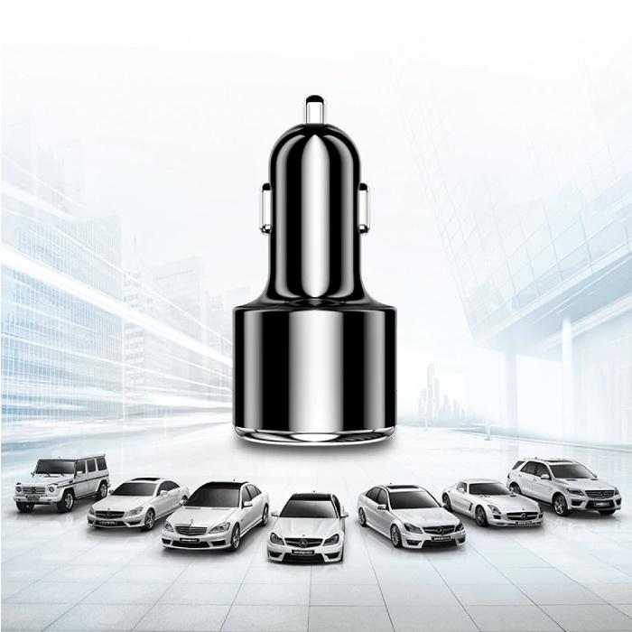 Qualcomm Quick Charge 3.0 Autoladegerät / Ladegerät - Schwarz