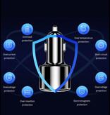 iHaitun Qualcomm Charge rapide 3.0 Voiture / Carcharger - Noir