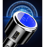 iHaitun Qualcomm Quick Charge 3.0 Car Charger / Carcharger - Black