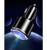 iHaitun Chargeur / Chargeur Voiture Qualcomm Quick Charge 3.0 - Noir