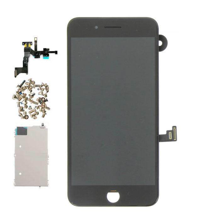 iPhone 8 Plus Vormontierter Bildschirm (Touchscreen + LCD + Teile) AAA + Qualität - Schwarz