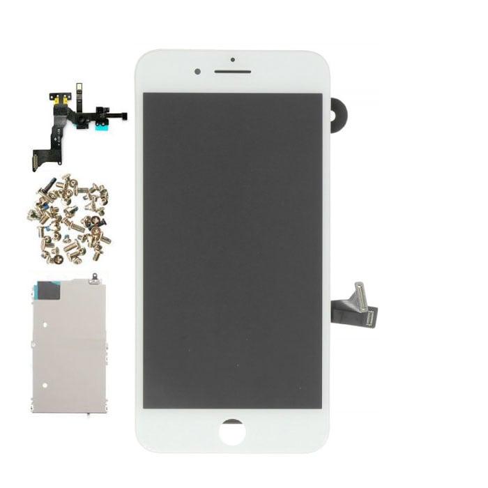 Écran pré-assemblé pour iPhone 8 Plus (écran tactile + LCD + pièces) A + Qualité - Blanc