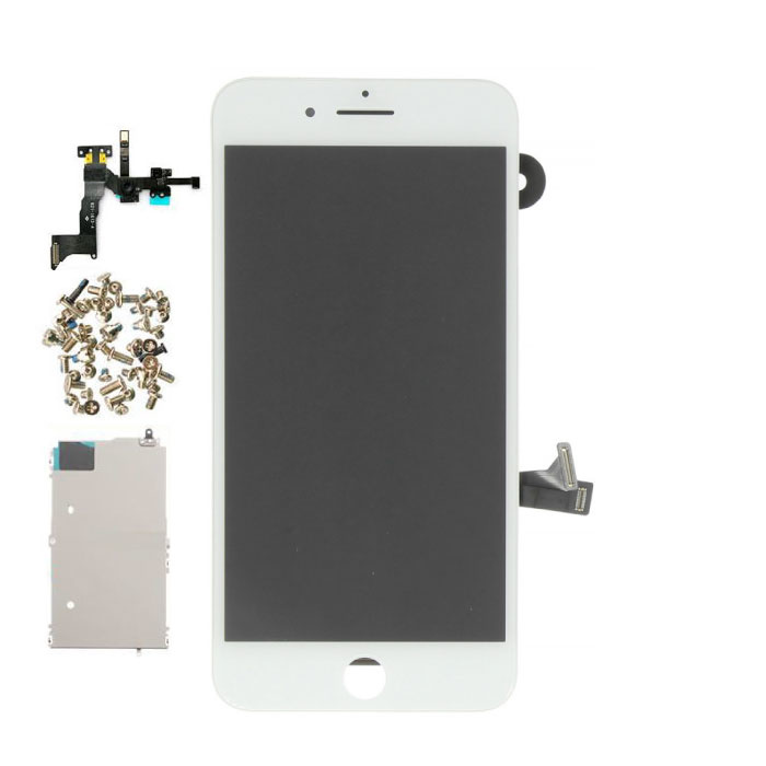 iPhone 8 Plus Pre-assembled Screen (Touchscreen + LCD + Parts) A + Quality - White