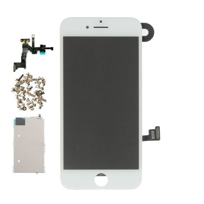 iPhone 8 Pre-assembled Screen (Touchscreen + LCD + Parts) AA + Quality - White