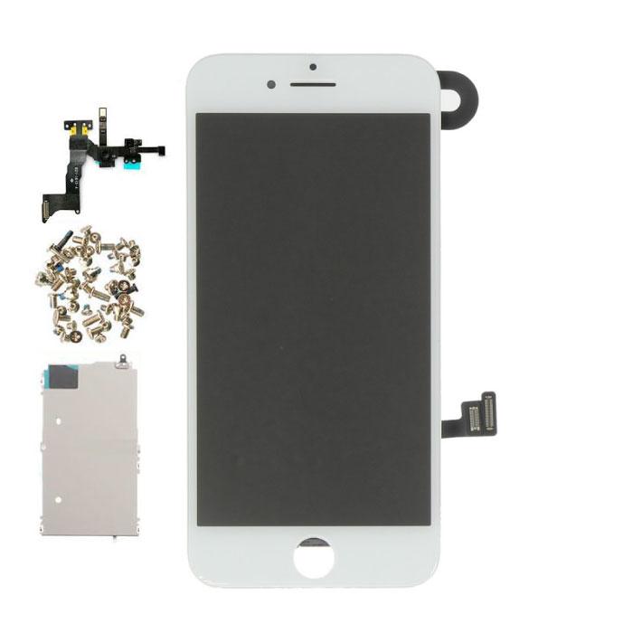 Écran pré-assemblé pour iPhone 8 (écran tactile + LCD + pièces) A + Qualité - Blanc