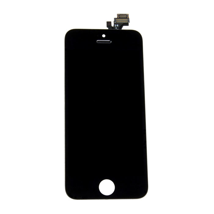 iPhone 5 Bildschirm (Touchscreen + LCD + Teile) AA + Qualität - Schwarz