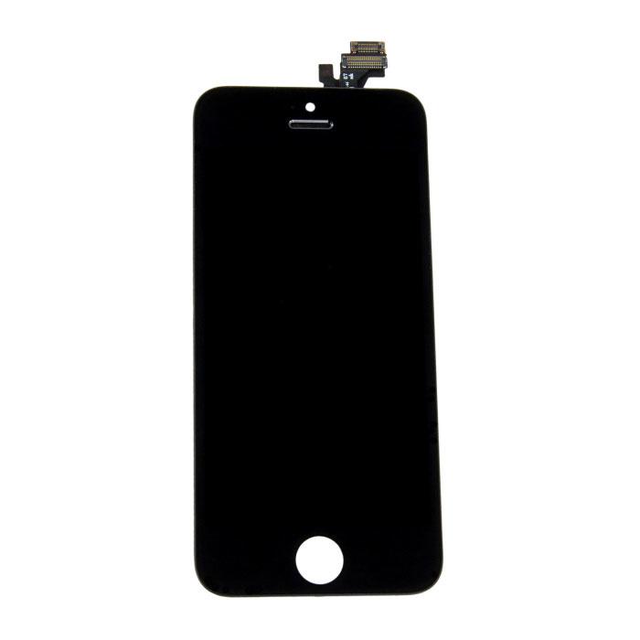 iPhone 5 Bildschirm (Touchscreen + LCD + Teile) A + Qualität - Schwarz