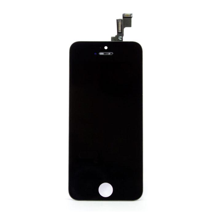 iPhone 5C Scherm (Touchscreen + LCD + Onderdelen) A+ Kwaliteit - Zwart