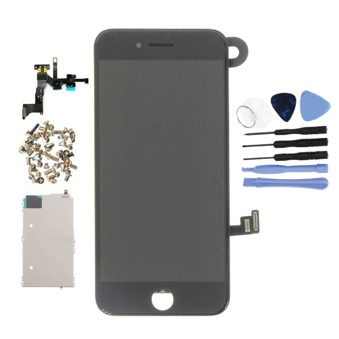 iPhone 8 Pre-assembled Screen (Touchscreen + LCD + Parts) AAA + Quality - Black + Tools