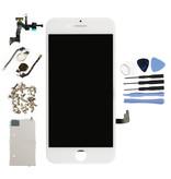 Stuff Certified® Écran pré-assemblé pour iPhone 7 (écran tactile + LCD + pièces) AA + Qualité - Blanc + Outils
