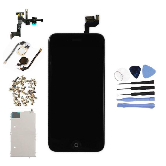 """iPhone 6S 4.7"""" Voorgemonteerd Scherm (Touchscreen + LCD + Onderdelen) AA+ Kwaliteit - Zwart + Gereedschap"""