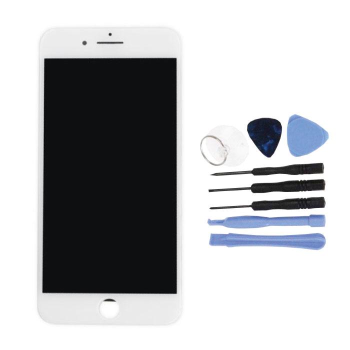 iPhone 7 Plus Scherm (Touchscreen + LCD + Onderdelen) AA+ Kwaliteit - Wit + Gereedschap