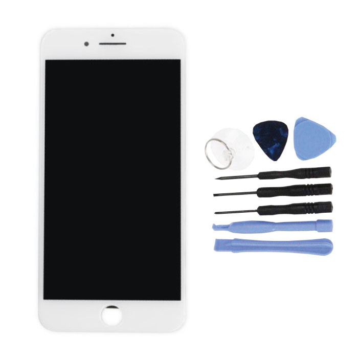 iPhone 7 Plus Screen (Touchscreen + LCD + Parts) AA + Quality - White + Tools