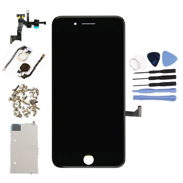 iPhone 7 plus Mounted Display avant ('cran LCD tactile + + piŠces) A+ Qualit' - Noir - Copy