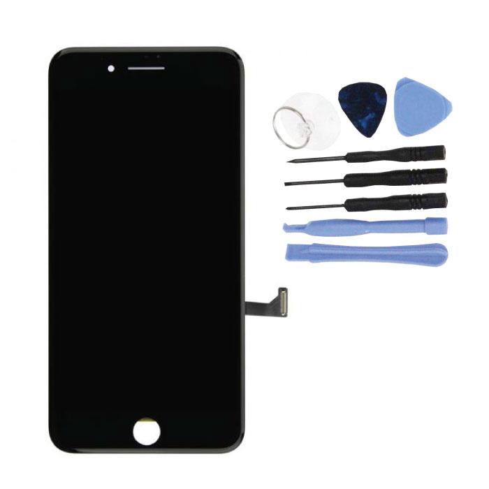 Écran iPhone 7 Plus (écran tactile + LCD + Pièces) A + Qualité - Noir + Outils