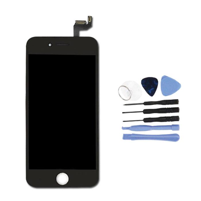 """iPhone 6S 4.7"""" Scherm (Touchscreen + LCD + Onderdelen) A+ Kwaliteit - Zwart + Gereedschap"""