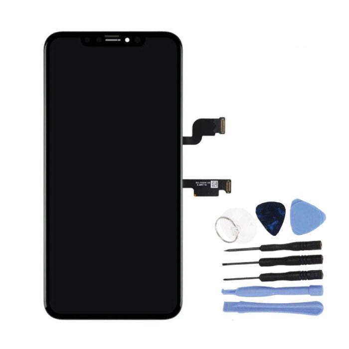 Écran iPhone XS Max (écran tactile + OLED + Pièces) Qualité AAA + - Noir + Outils