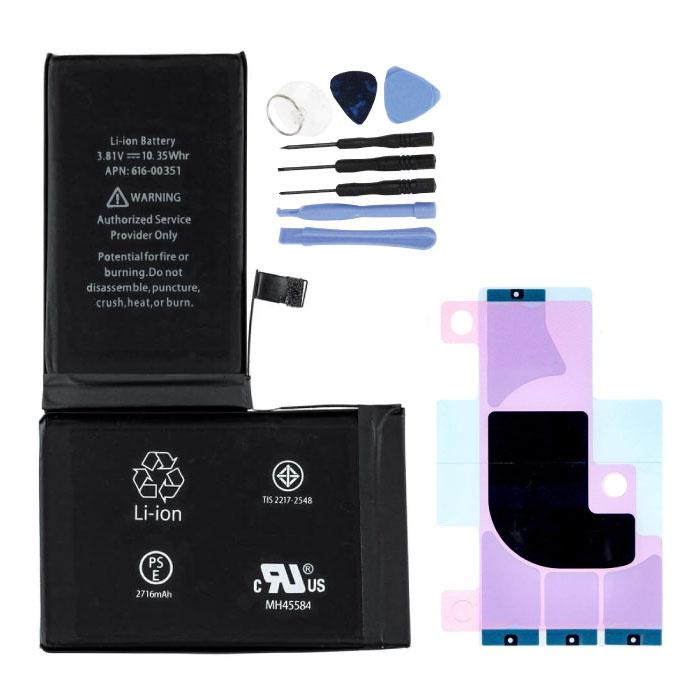 iPhone X Batterij/Accu AAA+ Kwaliteit + Gereedschap & Batterij Sticker