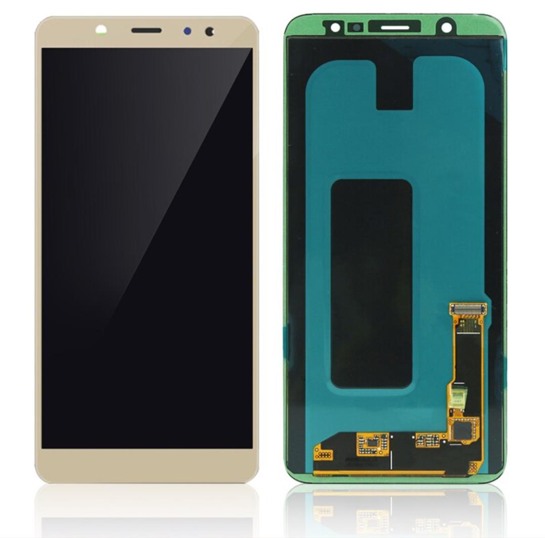 Samsung Galaxy A6 2018 A600 Bildschirm (Touchscreen + AMOLED + Teile) A + Qualität - Gold