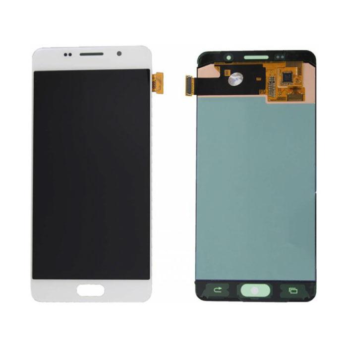 Samsung Galaxy A5 2016 A510 Scherm (Touchscreen + AMOLED + Onderdelen) A+ Kwaliteit - Wit