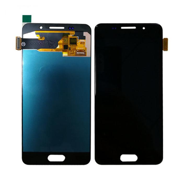 Samsung Galaxy A3 2016 A310 Bildschirm (Touchscreen + AMOLED + Teile) AAA + Qualität - Schwarz