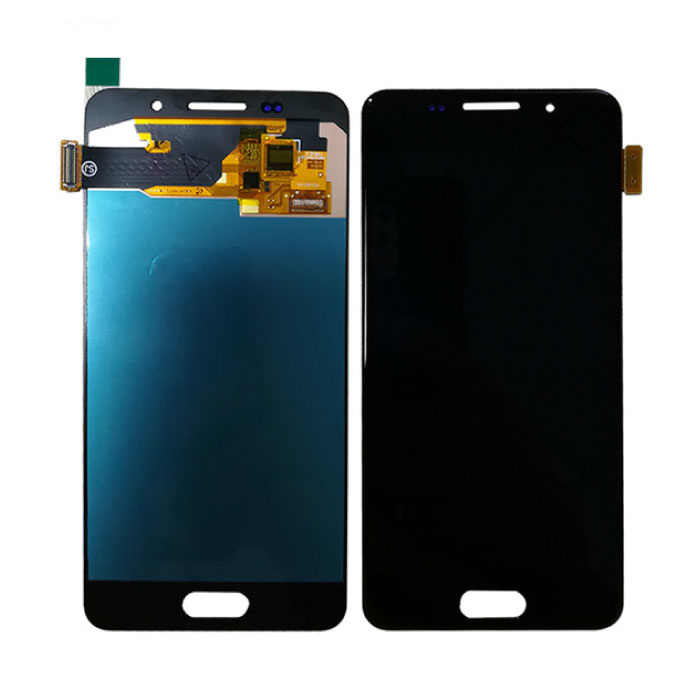Samsung Galaxy A3 2016 A310 Scherm (Touchscreen + AMOLED + Onderdelen) AAA+ Kwaliteit - Zwart