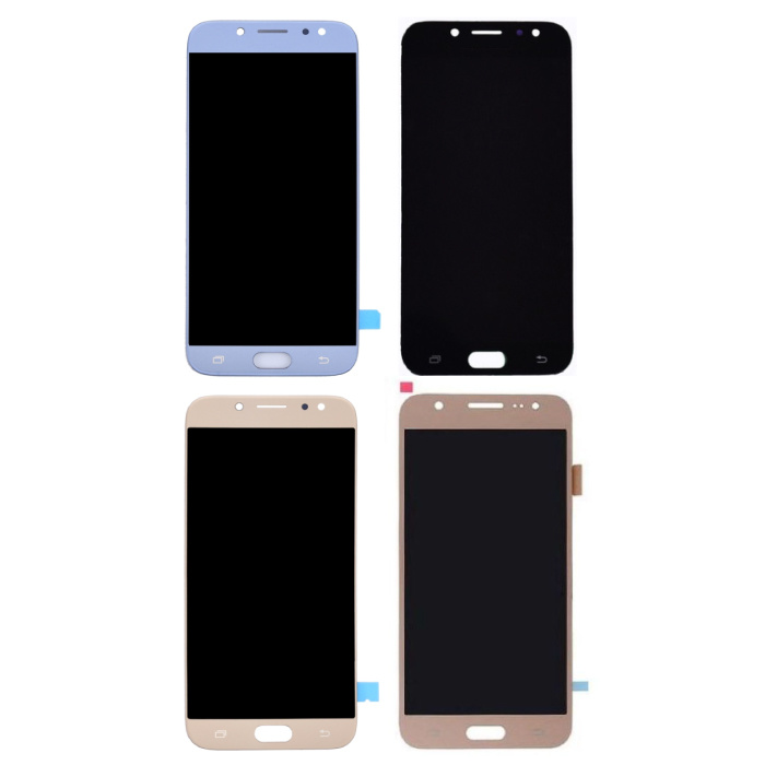 Samsung Galaxy J7 J730 2017 Screen (Touch Screen + AMOLED + Parts) A + Quality - Black / Light Blue / Gold / Rose Gold