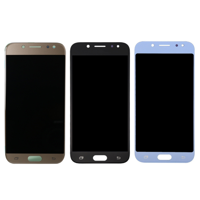 Samsung Galaxy J5 J530 2017 Scherm (Touchscreen + AMOLED + Onderdelen) A+ Kwaliteit - Zwart/Lichtblauw/Goud