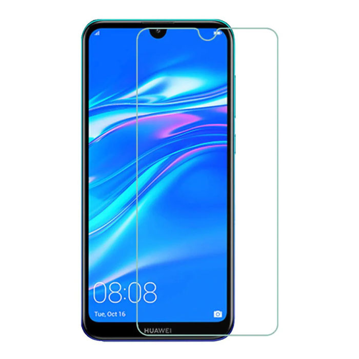 Huawei Y7 2019 Film de protection d'écran en verre trempé Lunettes en verre trempé