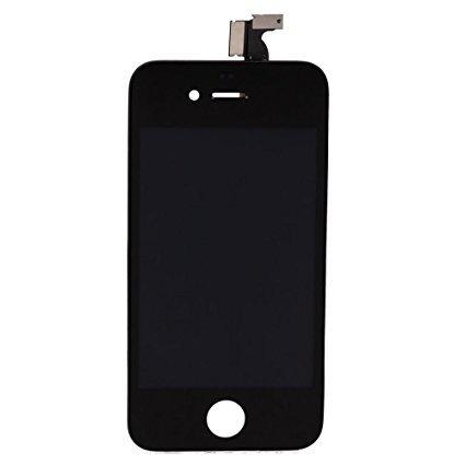 iPhone 4 Scherm (Touchscreen + LCD + Onderdelen) A+ Kwaliteit - Zwart