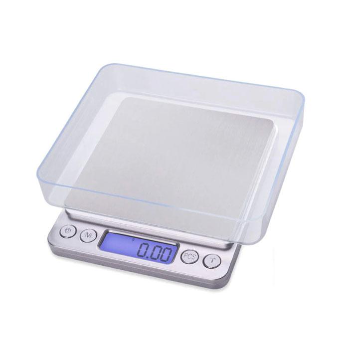 Balance de précision numérique échelle LCD portable pesage Balance 500g - 0.01g