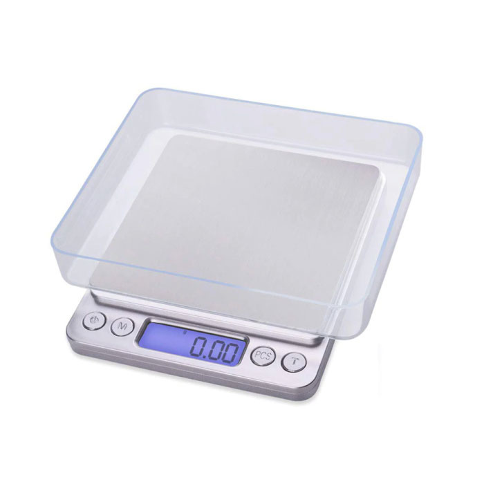 Digitale Precisie Portable Balance LCD Scale Weeg Weegschaal 500g - 0.01g
