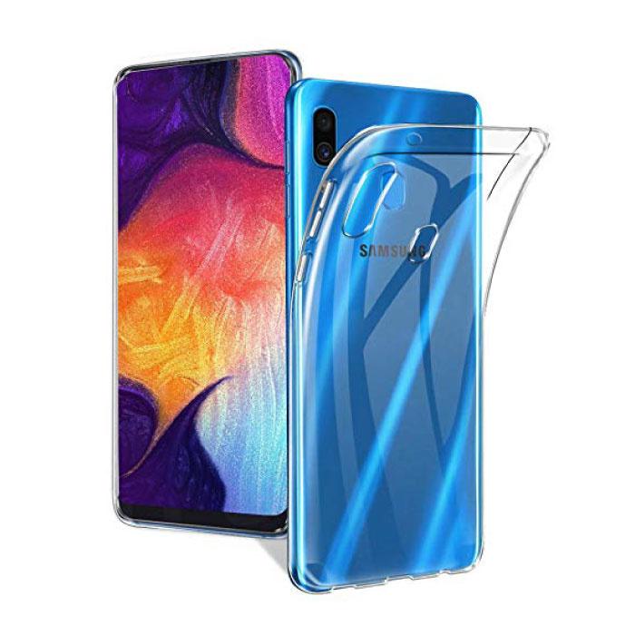 Coque en TPU transparente en silicone pour Samsung Galaxy A40