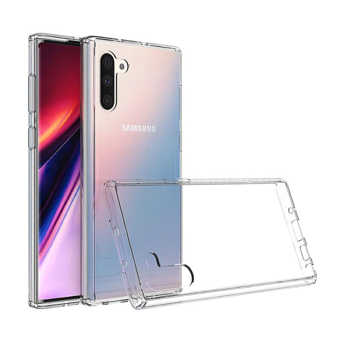 Coque en TPU transparente en silicone avec coque transparente pour Samsung Galaxy Note 10