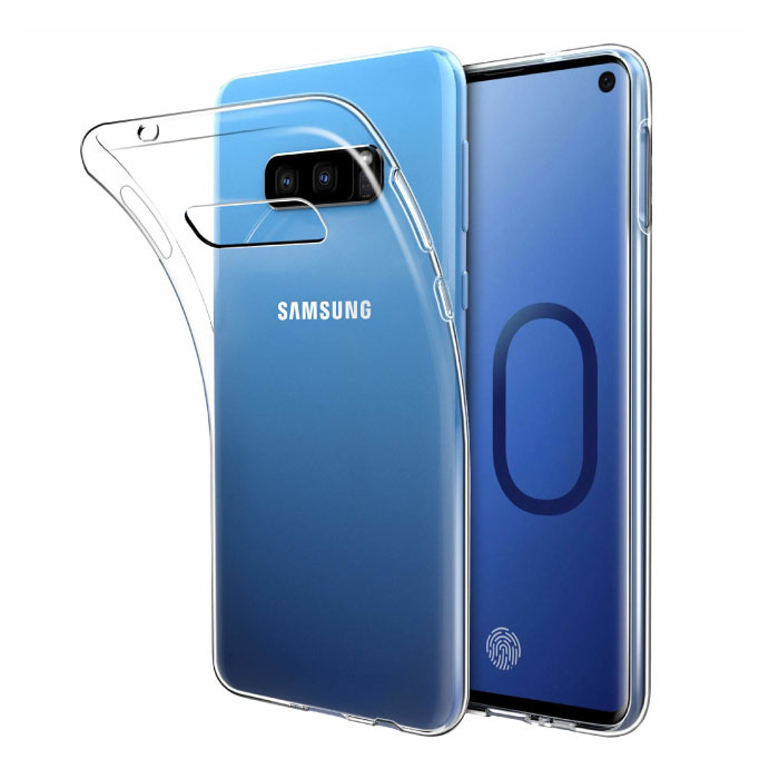 Transparant Clear Case Cover Silicone TPU Hoesje Samsung Galaxy S10e