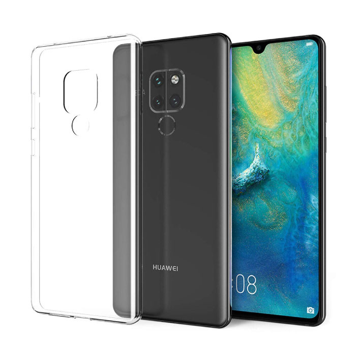 Huawei Mate 20 Transparente durchsichtige Hülle Silikon TPU Hülle