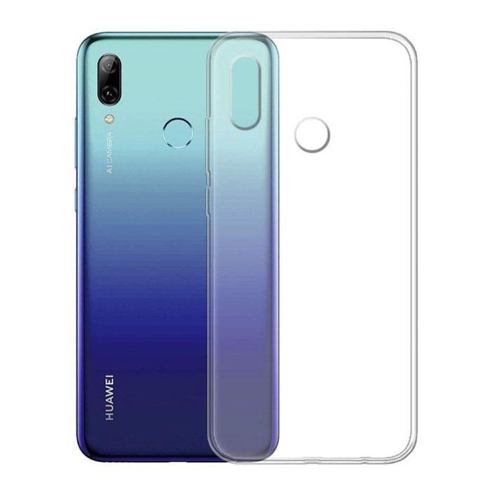 Huawei P Smart 2019 Transparent Clear Silicone Case Cover TPU Case